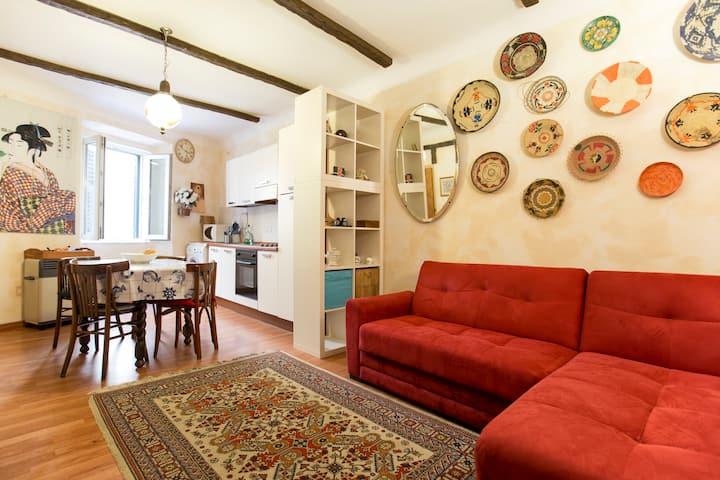 Grazioso appartamento nel pieno del centro storico