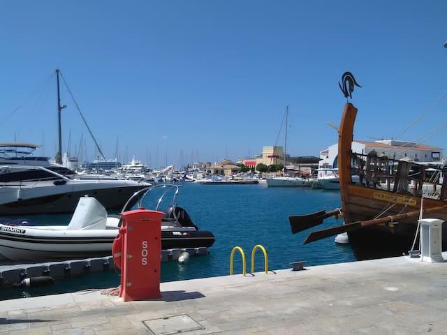 3 minutes walk from Limassol marina