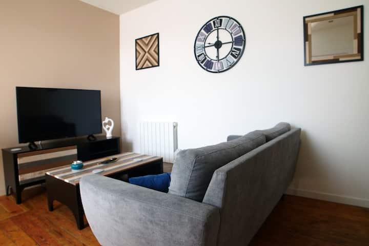 N° 3 Appartement de charme proche de Valenciennes
