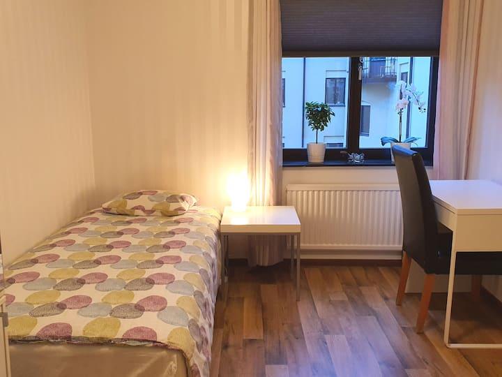Private room, Central Jönköping
