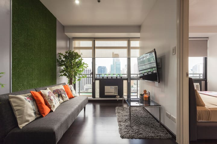 ★★★★★Exclusive Gramercy Makati 1-Bedroom w/NETFLIX
