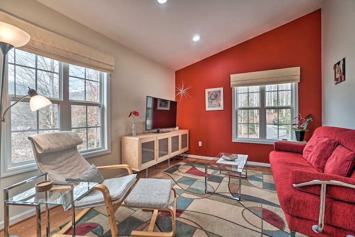 Secluded Chattahoochee Apartment w/Stunning Views!