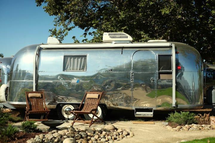 Vintage Airstream at Temecula's Wine Trail #2