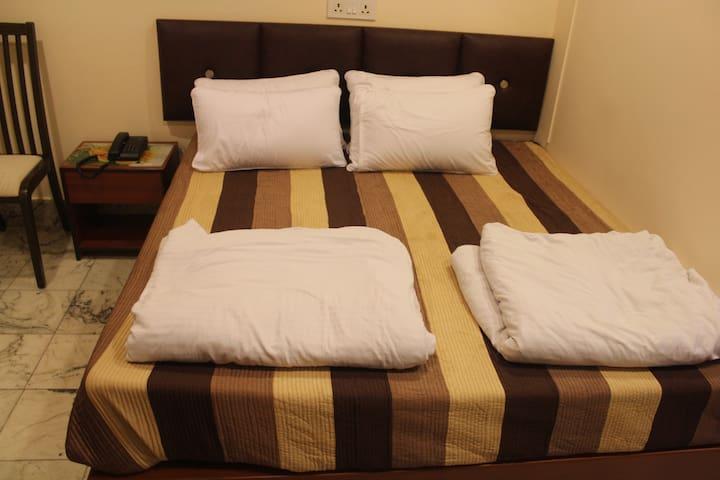 Bedroom 1 with linen