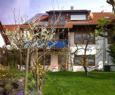2-Zimmer-Wohnung mit Terrasse. Separater Eingang