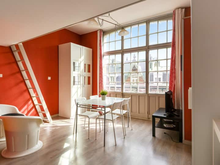 Bright and modern apartment in Vauban district, Central Lille