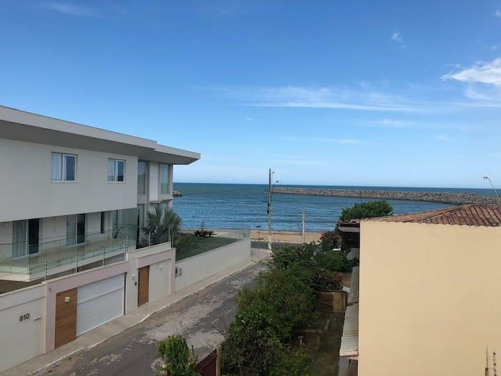 casa e terraço Itaipava vista   p mar 20 metro mar