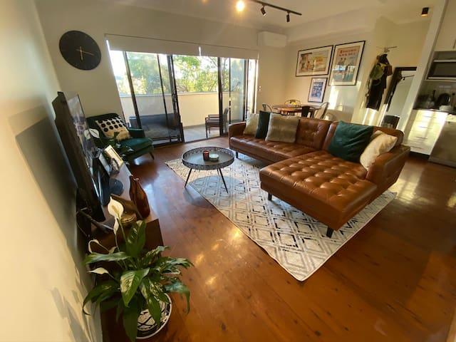 Stylish Green Inner West Apartment