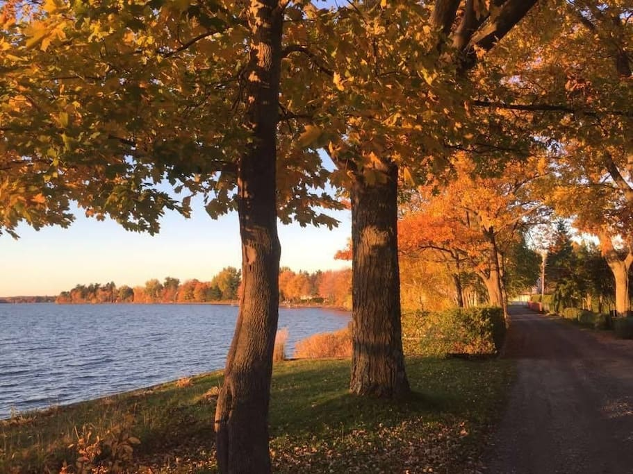 Fall on Fishers Point