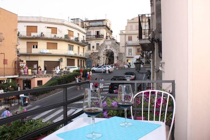 A Taormina, appartamento in centro - Taormina - Apartamento