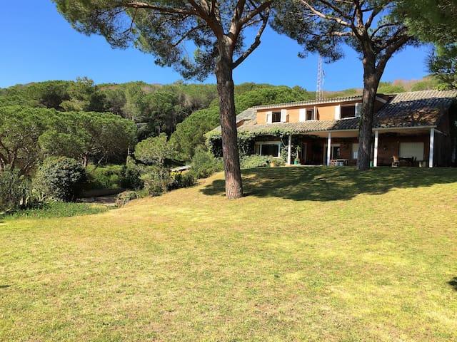 Villa Mediterranea con vistas al mar - Sant Andreu de Llavaneres - Villa