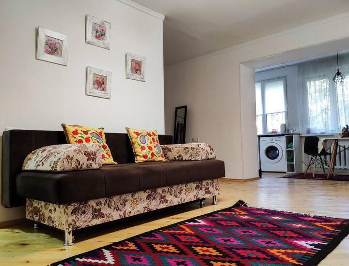 Nice apartment in the very center of Tashkent