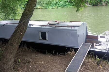 30ft  Narrowboat warm relaxing space - Boat