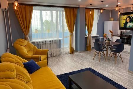 Дизайнерские апартаменты с шикарным видом