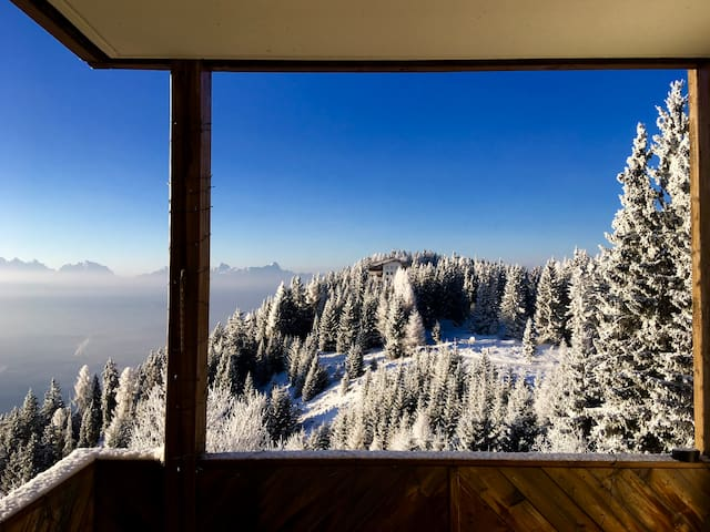 Mountain apartment with a stunning view! Gerlitzen - Treffen am Ossiacher See - Apartemen
