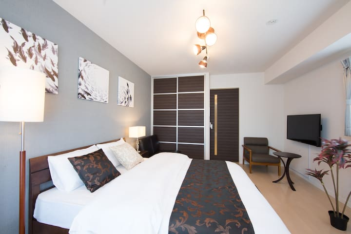 B6Umeda!★Hotel apartment★Simmons bed!★