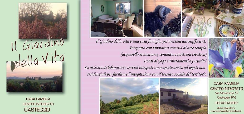 CasaFamiglia in Oltrepo Lombardia - Mairano - Hus