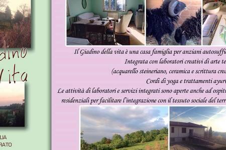 CasaFamiglia in Oltrepo Lombardia - Mairano - บ้าน