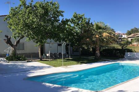 La Casa del Alberche, piscina, barbacoa, wifi