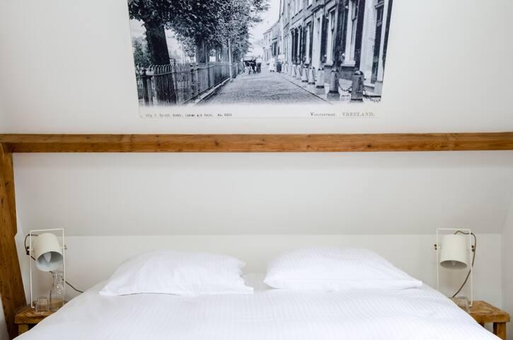 2 persoons kamer met bad/douche