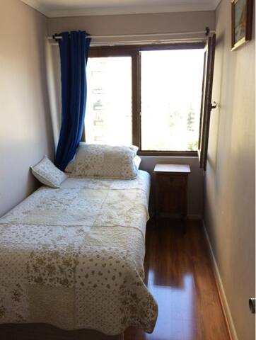 Habitación con baño privado  apartamento familiar