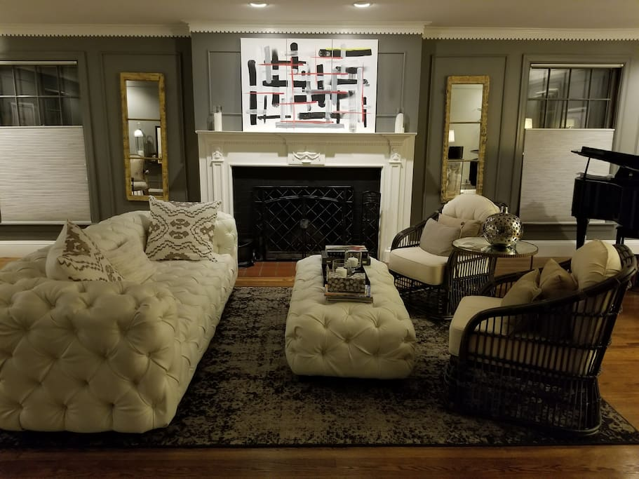 Relax in the living room