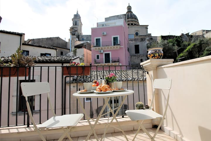 """I Balconi su Ibla"" - the Terrace"
