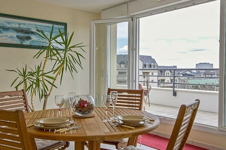CHARMING AND LUMINOUS APARTMENT WITH LARGE AND SUNNY TERRACE- CAEN FOR 2