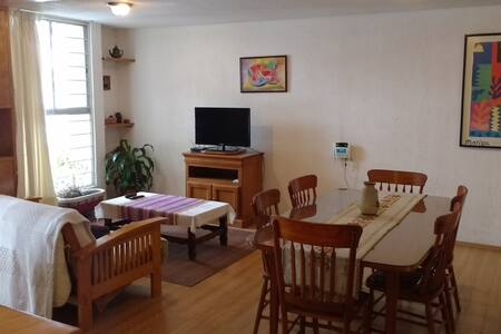 Nice apartment in Villa Coapa, sout - Πόλη του Μεξικού - Διαμέρισμα