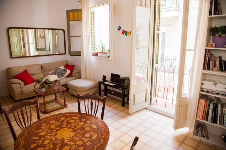 Sunny apartment in the heart of Grácia - Barcellona - Condominio