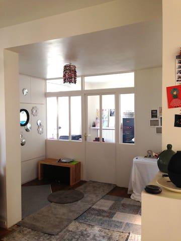 Chambre lit simple dans maison familiale - เบรส์ต - ที่พักพร้อมอาหารเช้า