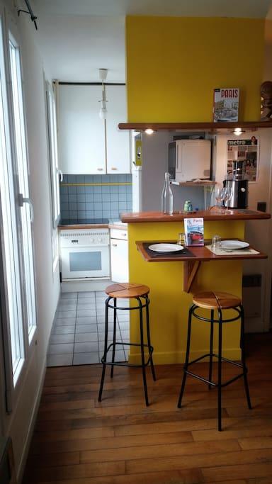 Cuisine/Kitchen Paris 18