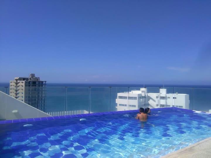 Apartamento en Playa Salguero con salida al Mar.