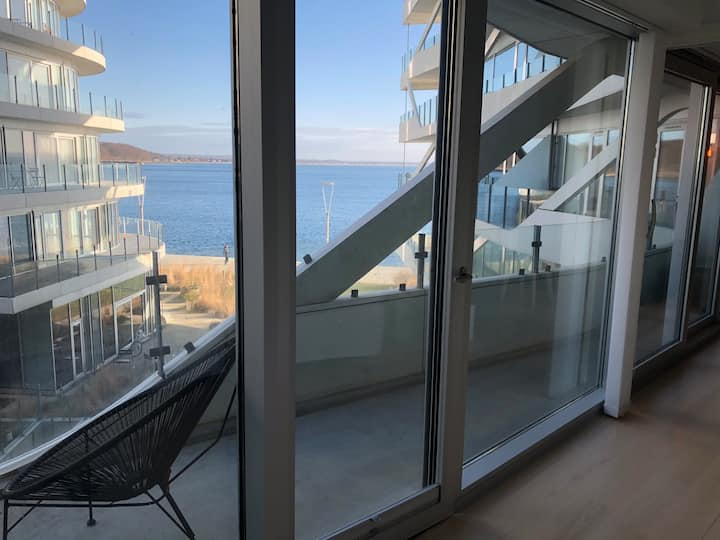 Wonderful apartment with a beautiful bay view