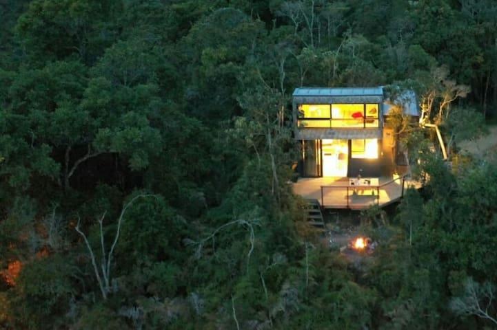 "Tiny House in Santa Elena Antioquia. ""CuboNube"""