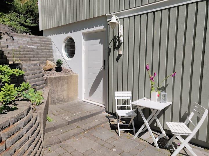 Bright apartment close to Gothenburg