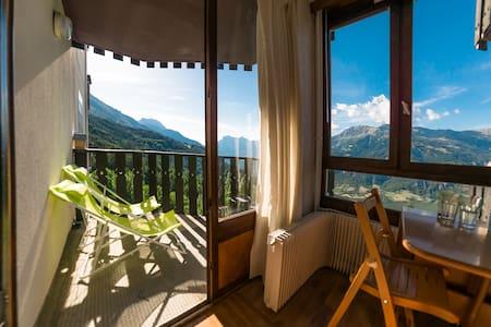 Studio à Pra-Loup 1600 au pied des pistes de ski - Uvernet-Fours - Apartment