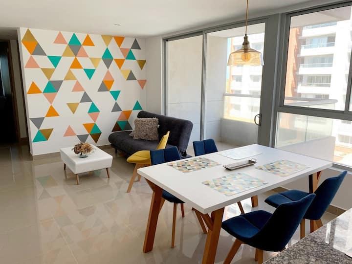 Nuevo comodo apartamento en Barranquilla