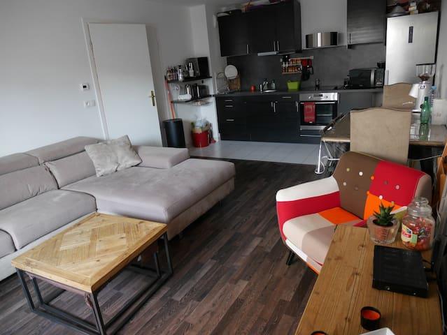 Comodo piso a la puerta de Paris - Romainville - Apartment