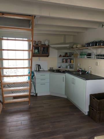 Het tuinhuis in de Zeeuws Vlaamse polder