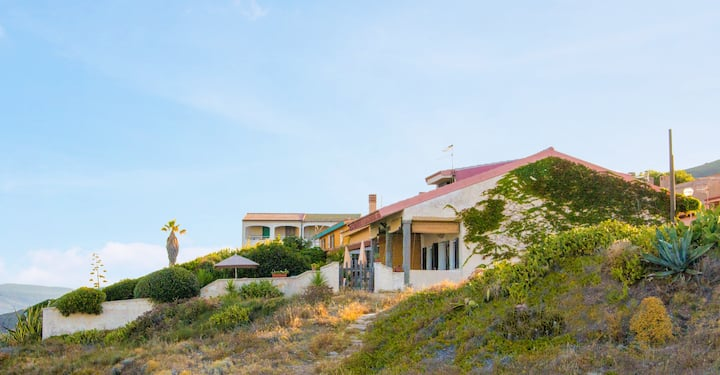 Sardegna, beautiful house by the sea