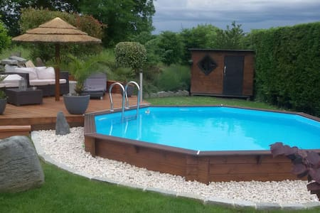 Pavillon au calme avec piscine - Соверни