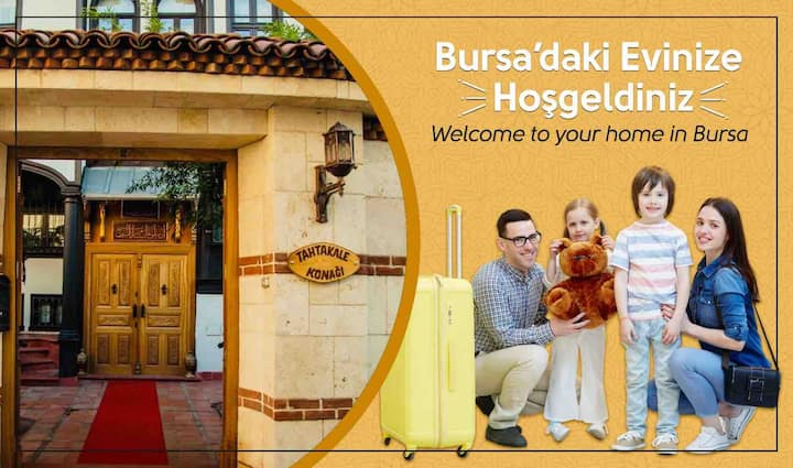 Welcome to your home in Bursa