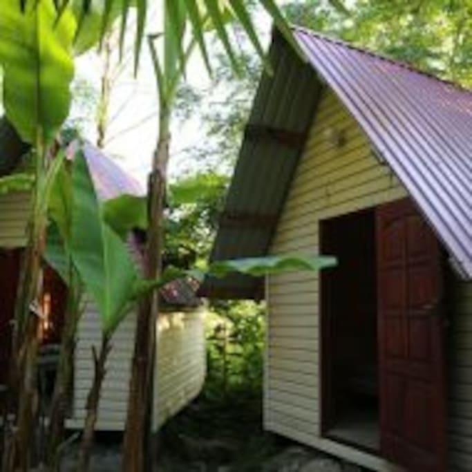 Деревянный домик на 2-х человек
