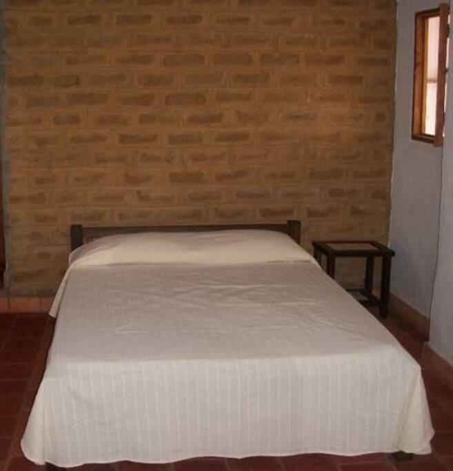 cama doble habitación principal