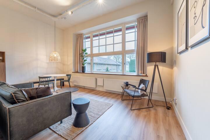Luxe studio op de Veluwe met badkamer, 4