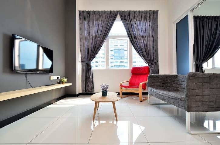 S1C Sky.Pod Puchong | 10Min To Sunway 蒲种市中心民宿公寓