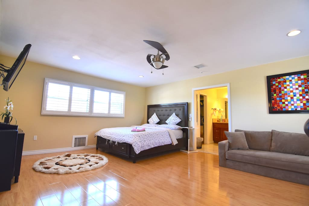 Spacious Master Suite Retreat Close To Disney Casas En Alquiler En Garden Grove