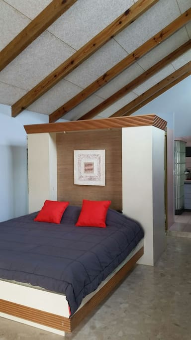 high ceilings and plenty of natural light