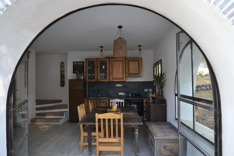 Entrata Cucina / Kücheneingang
